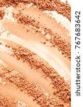 texture of face powder | Shutterstock . vector #767683642