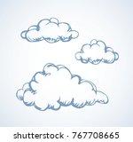 simple cute shape. heaven... | Shutterstock .eps vector #767708665
