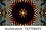 club lights stage background | Shutterstock . vector #767708692