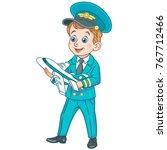 kids in professions. cartoon... | Shutterstock .eps vector #767712466