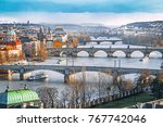 prague. stunning panorama view...