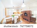 traditional finnish kitchen | Shutterstock . vector #767758072