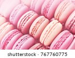 raspberry and strawberry pink... | Shutterstock . vector #767760775