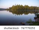 northern michigan wilderness... | Shutterstock . vector #767770252