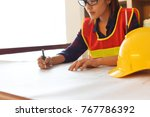 professional safety engineer  ... | Shutterstock . vector #767786392