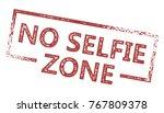 no selfie zone grunge sign   Shutterstock .eps vector #767809378