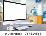 hospital blur blurred image of... | Shutterstock . vector #767814568
