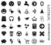interface of pictogram icons... | Shutterstock .eps vector #767822275