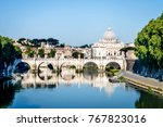 view to the st. peter's... | Shutterstock . vector #767823016
