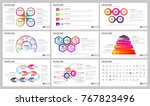 modern elements of infographics ... | Shutterstock .eps vector #767823496