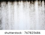 abstract white and grey  wall... | Shutterstock . vector #767825686