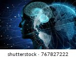 ai artificial intelligence ... | Shutterstock . vector #767827222