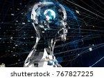 ai artificial intelligence ... | Shutterstock . vector #767827225