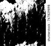 monochrome grunge seamless... | Shutterstock . vector #767829898