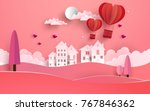 illustrations of love and... | Shutterstock .eps vector #767846362