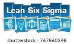 lean six sigma concept image...   Shutterstock . vector #767860348