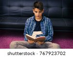 child  teenager or preteen... | Shutterstock . vector #767923702