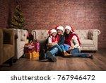 family  holidays  generation ... | Shutterstock . vector #767946472