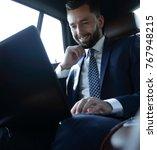 caucasian male business... | Shutterstock . vector #767948215