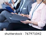 picture showing business people ... | Shutterstock . vector #767971042