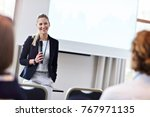 picture showing business people ... | Shutterstock . vector #767971135