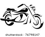 vélo,noir,classique,culture,emblème,extrême,graphique,illustration,mode de vie,ligne,moteur,moto,moto,personne ne,objet