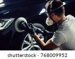 series of detailed cars ... | Shutterstock . vector #768009952