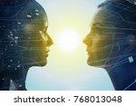 mental world of human concept. | Shutterstock . vector #768013048