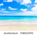 panorama summertime dream  | Shutterstock . vector #768022492