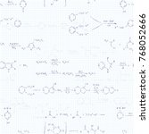a lot of basic chemical... | Shutterstock . vector #768052666