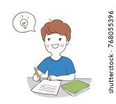 vector illustration character... | Shutterstock .eps vector #768055396