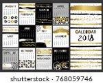 creative fashion glamour hand... | Shutterstock .eps vector #768059746