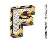 industrial black and yellow... | Shutterstock . vector #768067066