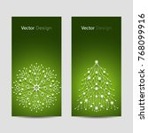 set of vertical banners. white... | Shutterstock .eps vector #768099916
