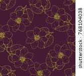 seamless vector pattern. two...   Shutterstock .eps vector #768104038