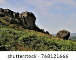 Cow And Calf Rocks Ilkley Moor...