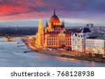 Hungarian Parliament  Budapest...