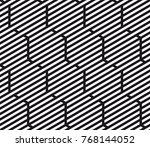 vector seamless pattern. modern ... | Shutterstock .eps vector #768144052