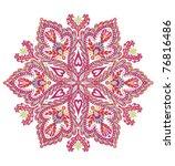 medallion mandala design | Shutterstock .eps vector #76816486