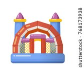children entertainment... | Shutterstock .eps vector #768173938