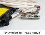 ip telephony system  telephone...   Shutterstock . vector #768178825
