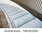 spiral stairs abstract  | Shutterstock . vector #768181036
