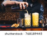 close up details of working... | Shutterstock . vector #768189445