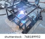 steel welding for making... | Shutterstock . vector #768189952