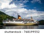 banda neira  indonesia  ... | Shutterstock . vector #768199552