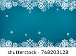 illustrations of winter and... | Shutterstock .eps vector #768203128