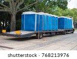 Portable Bio Toilets On The...