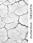 black and white image of crack...   Shutterstock . vector #768216916