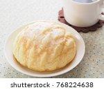 melon pan japanese sweet bread...   Shutterstock . vector #768224638