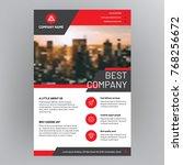 corporate brochure design   Shutterstock .eps vector #768256672